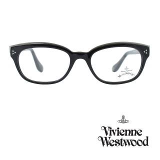 【Vivienne Westwood】光學鏡框個性工業風造型英倫風-黑-AN273 01(黑-AN273 01)好評推薦  Vivienne Westwood