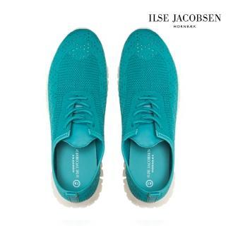 【ILSE JACOBSEN】ADEA4072輕量運動鞋-藍綠(運動鞋 好穿 無負擔)  ILSE JACOBSEN
