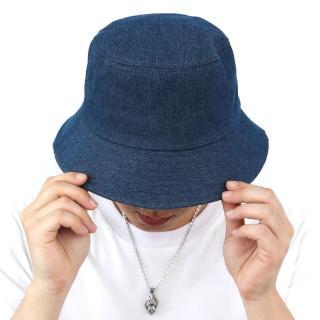 【玖飾時尚】深藍素面牛仔漁夫帽(漁夫帽)強力推薦  玖飾時尚
