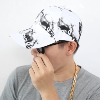 【玖飾時尚】黑白渲染棒球帽(老帽)好評推薦  玖飾時尚