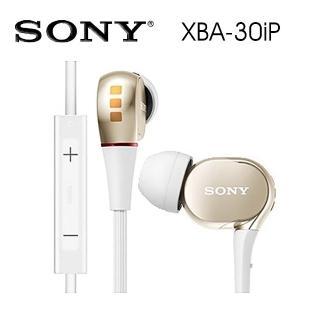【SONY 索尼】XBA-30iP 優異音質 適用iPhone接聽通話  SONY 索尼