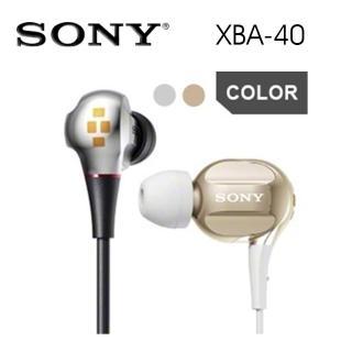 【SONY 索尼】XBA-40 四重平衡電樞 音效優美豐富(2色)  SONY 索尼