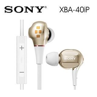 【SONY 索尼】XBA-40iP 極致饗宴 適用iPhone接聽通話  SONY 索尼