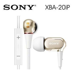【SONY 索尼】XBA-20iP 強勁低音 適用iPhone接聽通話好評推薦  SONY 索尼