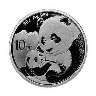 【台灣大洋金幣】2019 熊貓30克普製圓形紀念銀幣 簡裝  台灣大洋金幣