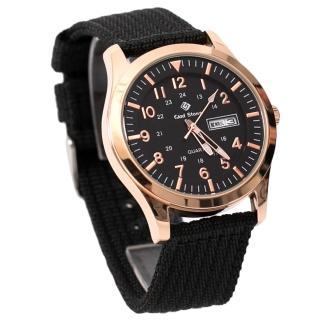 【玖飾時尚】搭戴SEIKO機芯型男帆布手錶(手錶)真心推薦  玖飾時尚