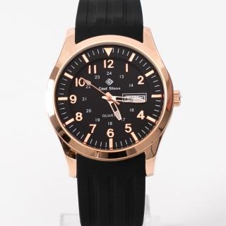 【玖飾時尚】搭戴SEIKO機芯玫金黑面手錶(手錶)好評推薦  玖飾時尚