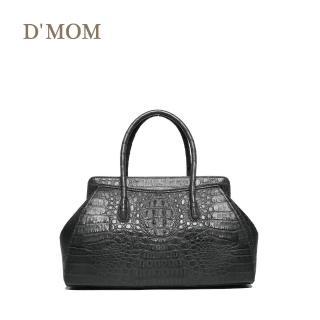 【DMOM】復古鱷魚醫生包-灰  DMOM