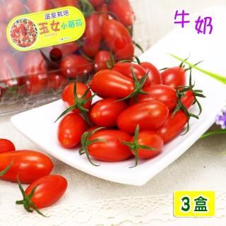 【愛蜜果】溫室玉女小蕃茄3盒(600克/盒) 推薦  愛蜜果