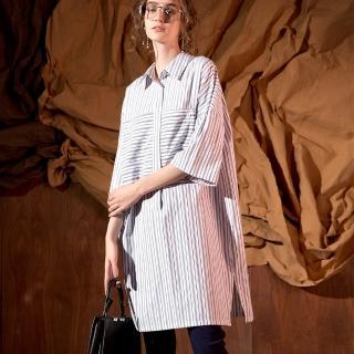 【PANGCHI 龐吉】魅力都會襯衫洋裝(1823017-11)  PANGCHI 龐吉