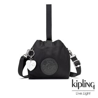 【KIPLING】亞洲限定款隕星黑素面手提側背包-IMMIN好評推薦  KIPLING