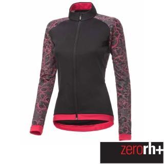【ZeroRH+】義大利 FASHION LAB 女仕專業自行車外套(黑/紅 ICD0609_14P)  ZeroRH+
