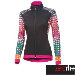 【ZeroRH+】義大利 FASHION LAB 女仕專業自行車外套(黑/粉 ICD0609_15P)  ZeroRH+
