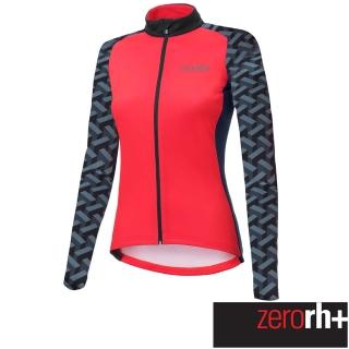 【ZeroRH+】義大利 FASHION LAB 女仕專業刷毛自行車衣(紅色 ICD0610_09P)  ZeroRH+