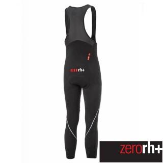 【ZeroRH+】義大利男仕專業吊帶自行車褲(紅色 ICU0591_930)  ZeroRH+