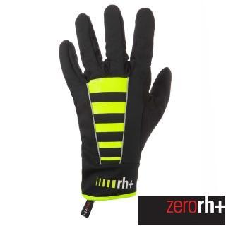 【ZeroRH+】義大利 CODE 專業防風保暖自行車手套(螢光黃 ICX9173_917)真心推薦  ZeroRH+
