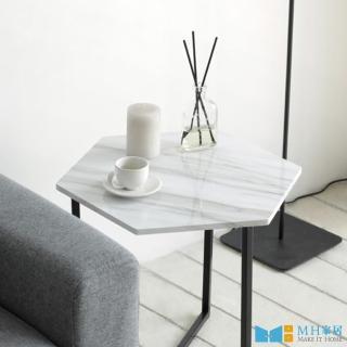 【MH 家居】諾迪北歐風沙發桌六角款(邊桌/茶几) 推薦  MH 家居
