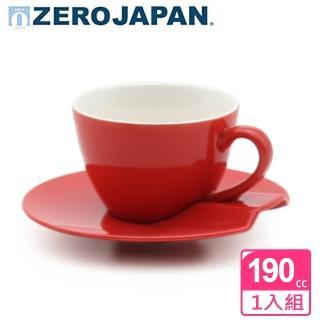 【ZERO JAPAN】杯盤組190cc(蕃茄紅)  ZERO JAPAN