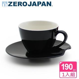 【ZERO JAPAN】杯盤組190cc(黑)  ZERO JAPAN