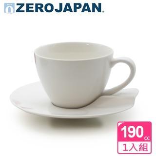 【ZERO JAPAN】杯盤組190cc(白)  ZERO JAPAN
