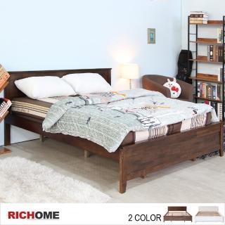 【RICHOME】北歐浪漫6呎大雙人床(2色)真心推薦  RICHOME