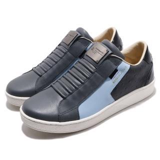【ROYAL Elastics】休閒鞋 Adelaide 低筒 運動 男鞋 基本款 穿脫方便 質感 球鞋 舒適 灰 藍(02684885) 推薦  ROYAL Elastics