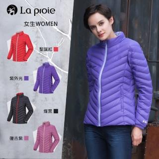 【La proie 萊博瑞】女式短版立領羽絨鵝絨外套(四色-防潑水短版鵝絨立領外套)  La proie 萊博瑞