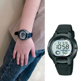 【CASIO 卡西歐】多元STANDARD兒童電子錶系列(LW-200-1B)強力推薦  CASIO 卡西歐