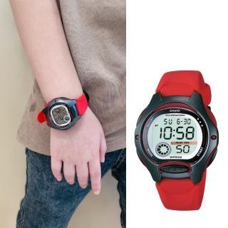 【CASIO 卡西歐】多元STANDARD兒童電子錶系列(LW-200-4A)強力推薦  CASIO 卡西歐