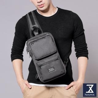 【74盎司】Life 雙口袋設計尼龍胸包(G-1031-LI-M)好評推薦  74盎司