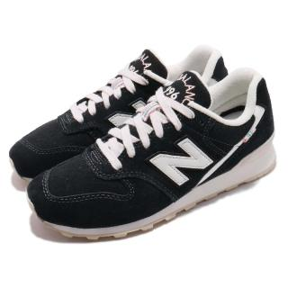 【NEW BALANCE】休閒鞋 WR996YBD 寬楦 運動 女鞋 紐巴倫 基本款 透氣 舒適 穿搭 球鞋 黑 白(WR996YBD)  NEW BALANCE