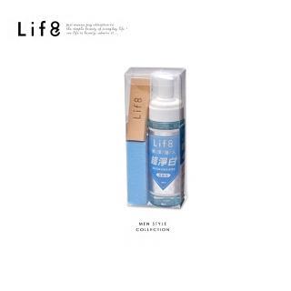 【Life8】超淨白 鞋包清潔組180ml(05376)  Life8