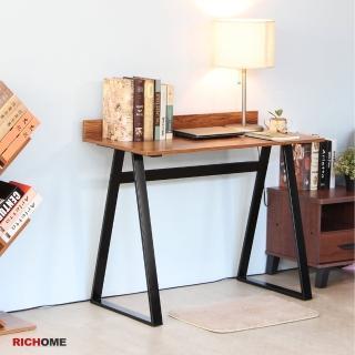 【RICHOME】MIRO鋼鐵人EZ書桌(胡桃木紋色)  RICHOME