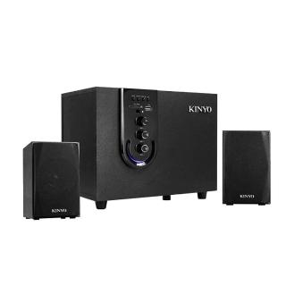 【KINYO】2.1聲道可插卡藍牙喇叭(藍牙喇叭)強力推薦  KINYO