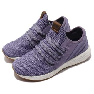 【NEW BALANCE】慢跑鞋 WCRZDLD2B 襪套 運動 女鞋 紐巴倫 輕量 透氣 舒適 球鞋 穿搭 紫 米白(WCRZDLD2B)  NEW BALANCE