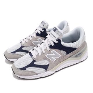 【NEW BALANCE】休閒鞋 MSX90RPB D 復古 男鞋 紐巴倫 反光 麂皮 球鞋穿搭 灰 藍(MSX90RPBD)  NEW BALANCE