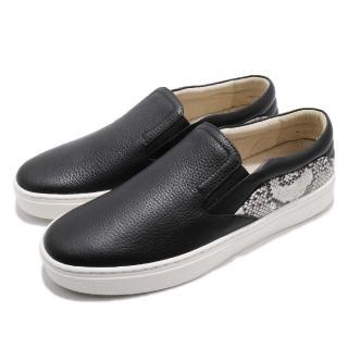 【ROYAL Elastics】休閒鞋 Ketella 低筒 運動 男鞋 套腳 穿脫方便 皮革 質感 穿搭 舒適 黑 白(00384990)  ROYAL Elastics