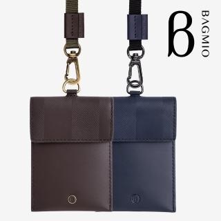 【BAGMIO】牛皮名片證件套 附織帶(authentic 系列)  BAGMIO