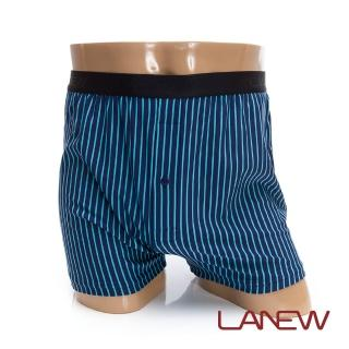 【La new】沁涼條紋平口褲(男71840902)  La new