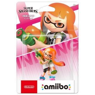 【Nintendo 任天堂】amiibo公仔 橘色女孩(明星大亂鬥)強力推薦  Nintendo 任天堂