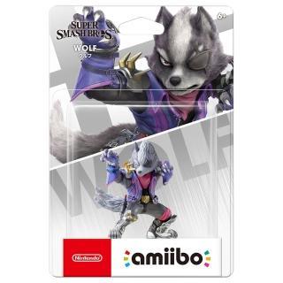 【Nintendo 任天堂】amiibo公仔 沃爾夫(明星大亂鬥) 推薦  Nintendo 任天堂