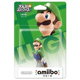 【Nintendo 任天堂】amiibo公仔 路易吉(明星大亂鬥)  Nintendo 任天堂
