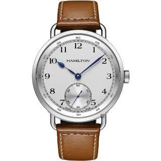 【HAMILTON 漢米爾頓】KHAKI NAVY 120週年限量機械錶-46.5mm(H78719553)好評推薦  HAMILTON 漢米爾頓