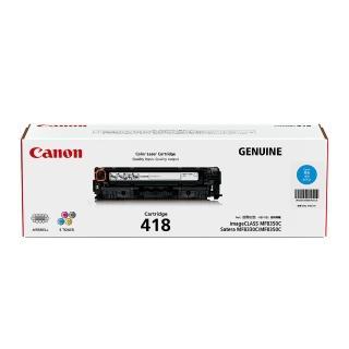 【Canon】CRG-418C★原廠藍色碳粉匣  Canon
