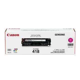【Canon】CRG-418M★原廠紅色碳粉匣推薦折扣  Canon