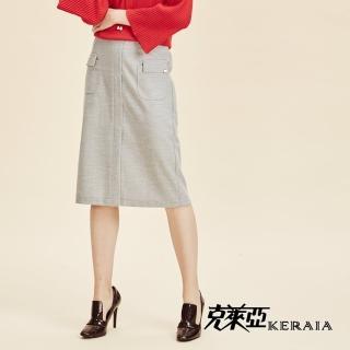 【KERAIA 克萊亞】日本羊毛料顯瘦鉛筆裙  KERAIA 克萊亞