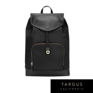 【Targus】Newport 抽繩後背包(尊爵黑/適用 15 吋筆電)  Targus