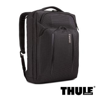 【Thule 都樂】Crossover 2 Laptop Bag 三用側背包(黑色/適用 15.6吋筆電)推薦折扣  Thule 都樂