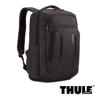 【Thule 都樂】Crossover 2 Backpack 20L 跨界後背包(黑色/適用 13 吋筆電)好評推薦  Thule 都樂