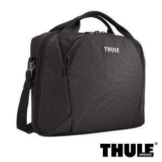 【Thule 都樂】Crossover 2 Laptop Bag 電腦側背包(黑色/適用 13.3吋筆電)  Thule 都樂